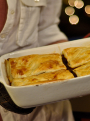 Black Gold steak pie