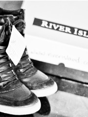River Island wedge h...
