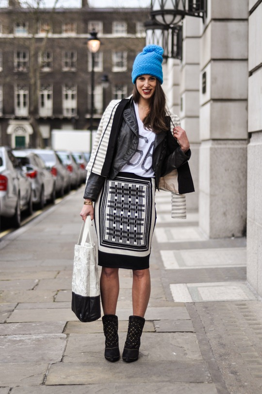 Thankfifi at LFW in Clements Ribeiro and H&M-2
