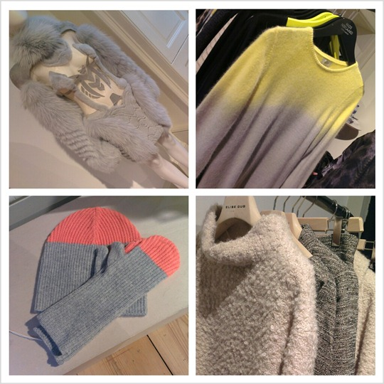 Thankfifi at LFW - the Scandinavian Rooms knits