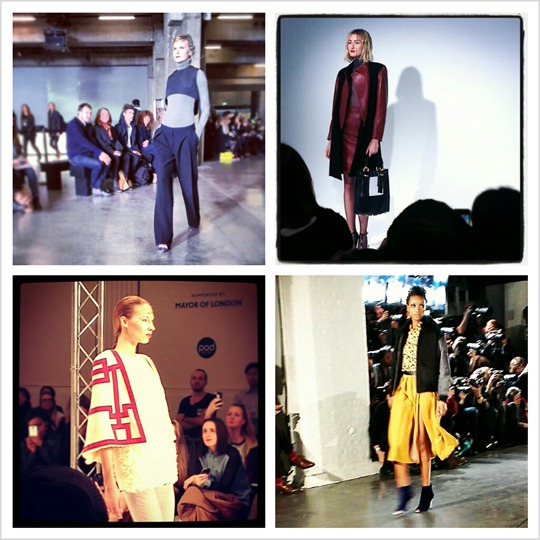 Thankfifi at LFW - the shows