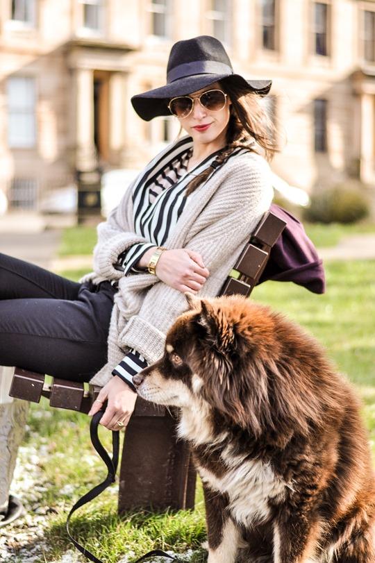 Thankfifi in Zara stripes-11
