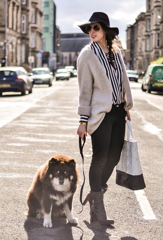 Thankfifi in Zara stripes-3
