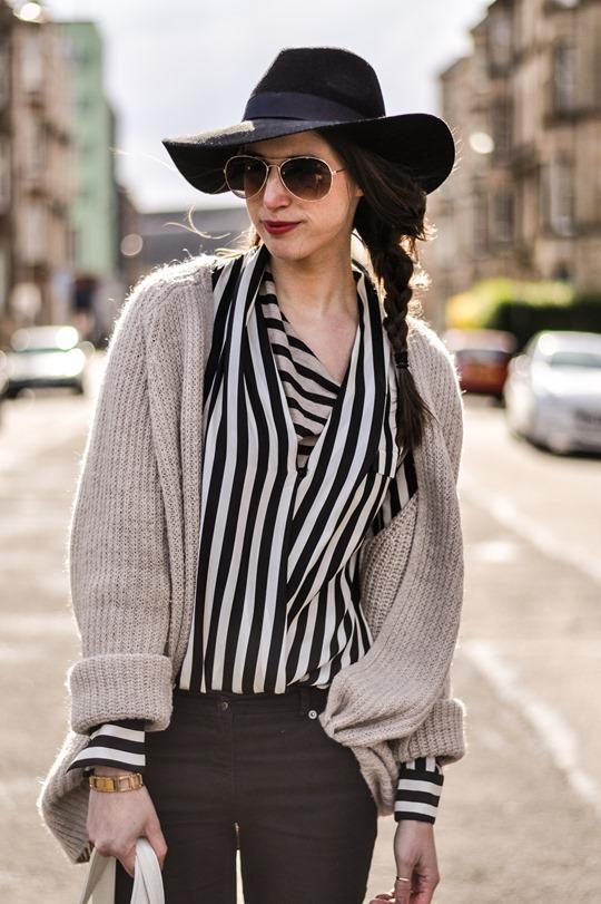 Thankfifi in Zara stripes-6