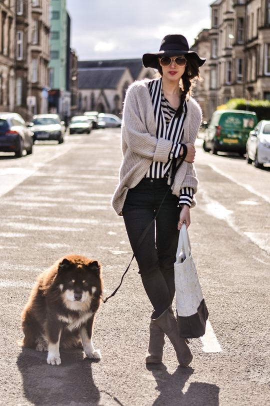 Thankfifi in Zara stripes