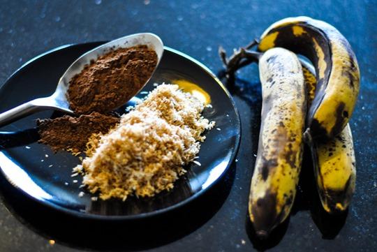 Thankfifi- Skinny banana chococonut icecream