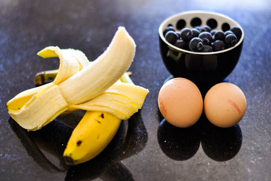 Thankfifi- Super skinny blueberry pancakes