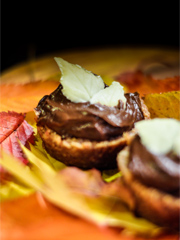 Chocovocado tarts