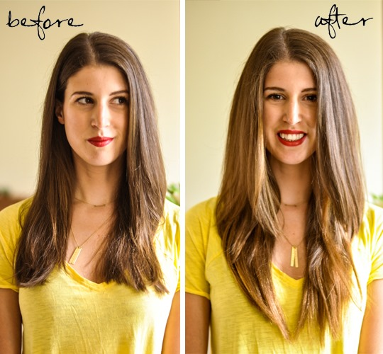 Thankfifi--Ombre-hair-with-Bellami---Before-&-After