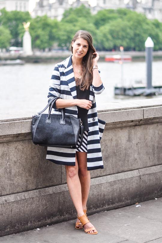Thankfifi- ASOS stripe coat & Mooi Shaz bag-2