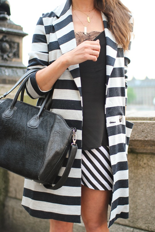 Thankfifi- ASOS stripe coat & Mooi Shaz bag-8