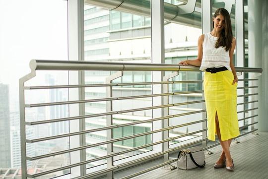 Thankfifi- Asos front split skirt, Petronas Towers-3