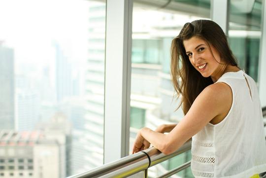 Thankfifi- Asos front split skirt, Petronas Towers-4