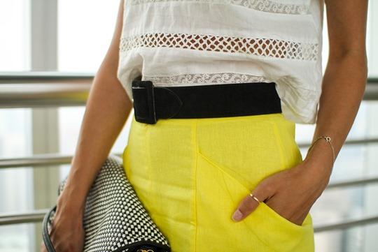Thankfifi- Asos front split skirt, Petronas Towers-5