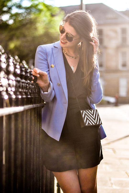 Thankfifi- Bastyan Little Things - the cornflower blue blazer-4