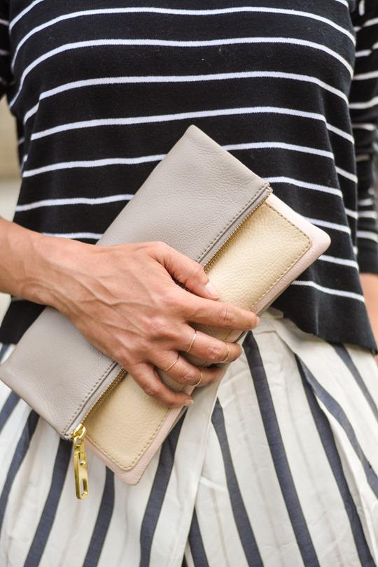 Thankfifi- Breton stripes streetstyle in Mango & Zara-4