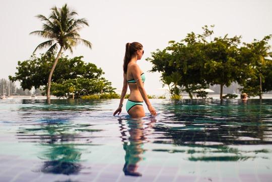 Thankfifi- Triangl Winnie Bikini Miami Mint, The Danna Hotel, Langkawi