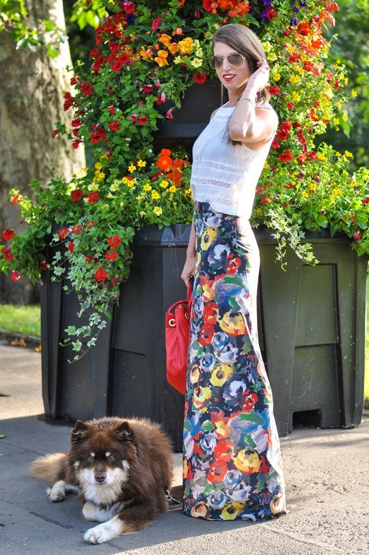 Thankfifi- Alice & Olivia floral palazzo pants-3