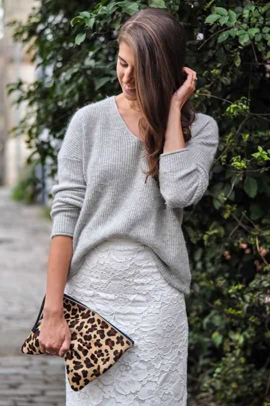 Thankfifi- Crochet lace midi skirt -fashion blogger streetstyle-4