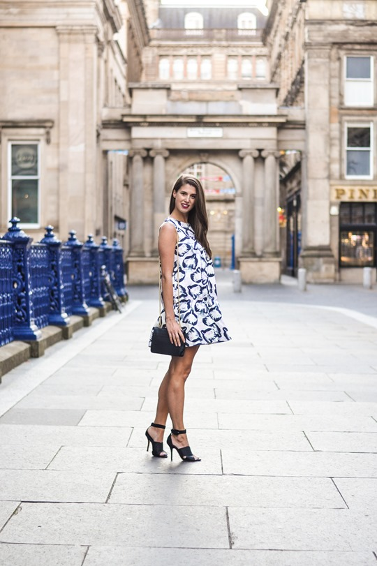 Thankfifi- H&M Trend bubble dress, GOMA Glasgow - fashion blogger streetstyle-3-2