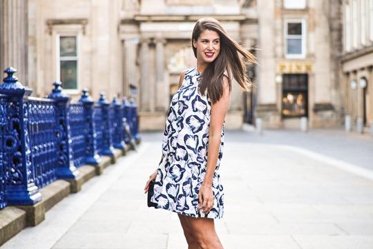 Thankfifi- H&M Trend bubble dress, GOMA Glasgow - fashion blogger streetstyle-7-2