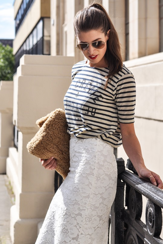 Thankfifi- Lace, leopard & stripes - fashion blogger streetstyle-5