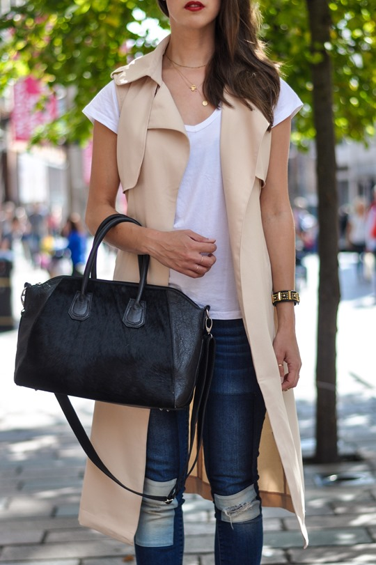 Thankfifi- Missguided being sleeveless trench coat - fashion blogger streetstyle-12