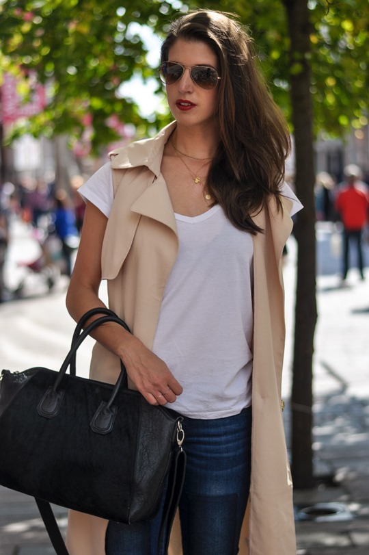 Thankfifi- Missguided being sleeveless trench coat - fashion blogger streetstyle-6