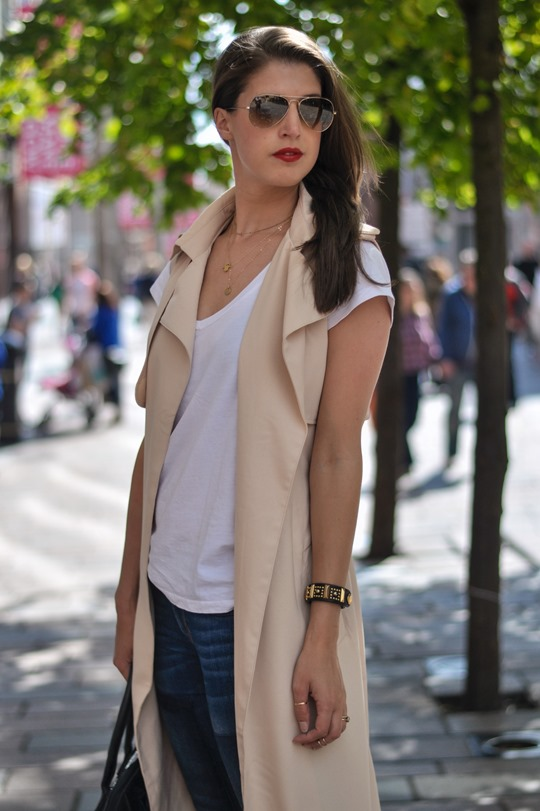 Thankfifi- Missguided being sleeveless trench coat - fashion blogger streetstyle-7