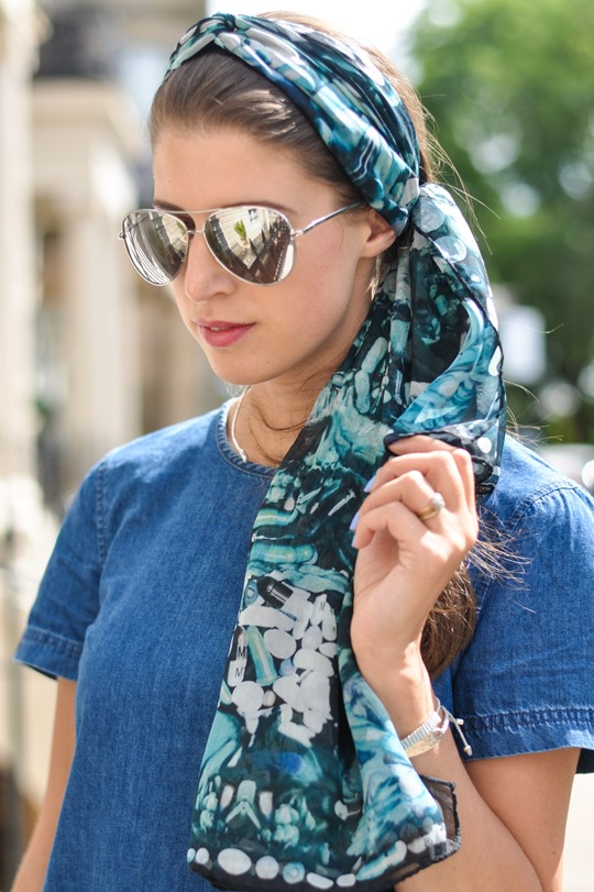 Thankfifi- double denim steetstyle & klements headscarf-6