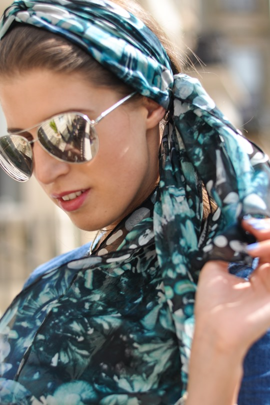 Thankfifi- double denim steetstyle & klements headscarf-8