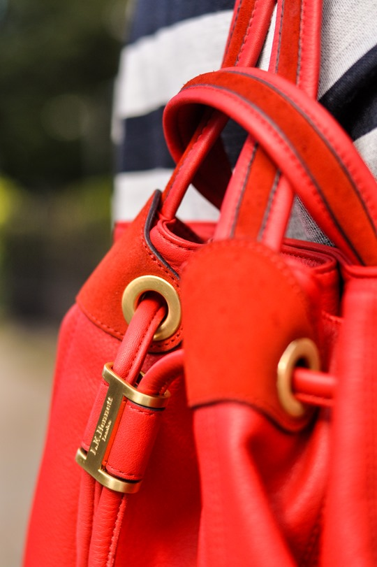 Thankfifi- red sohpia backpack by LK Bennett - fashion blogger streetstyle-10