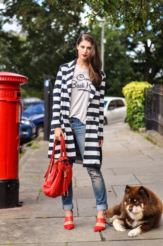 Thankfifi- red sohpia backpack by LK Bennett - fashion blogger streetstyle-2