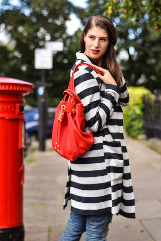 Thankfifi- red sohpia backpack by LK Bennett - fashion blogger streetstyle-4