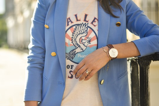 Thankfifi- Daniel Wellington St. Andrews Rose Gold watch - fashion blogger streetstyle-6