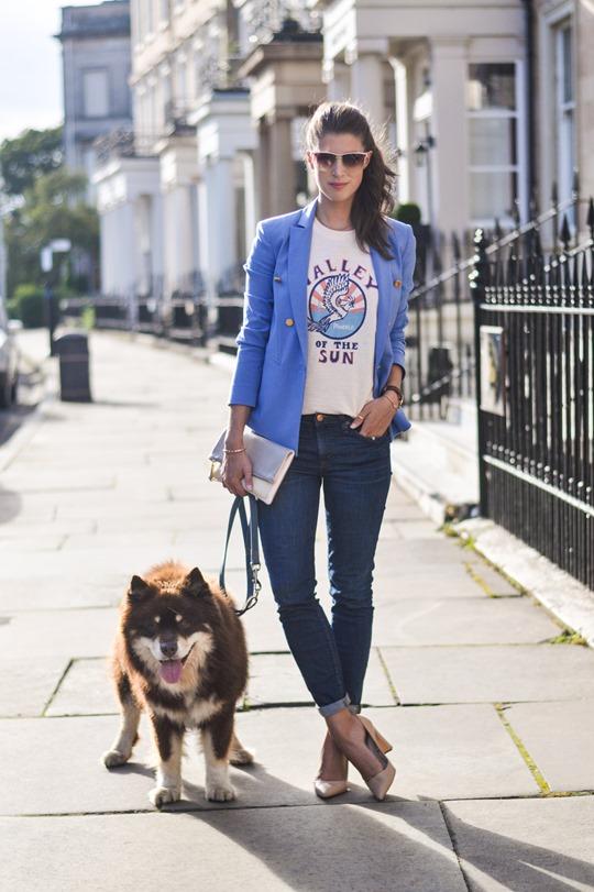 Thankfifi- Daniel Wellington St. Andrews Rose Gold watch - fashion blogger streetstyle