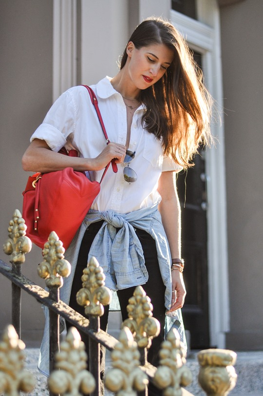 Thankfifi- Double layered shirts & big flares - fashion blogger streetstyle-11