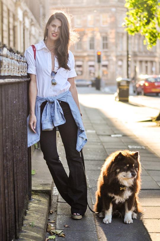 Thankfifi- Double layered shirts & big flares - fashion blogger streetstyle-3