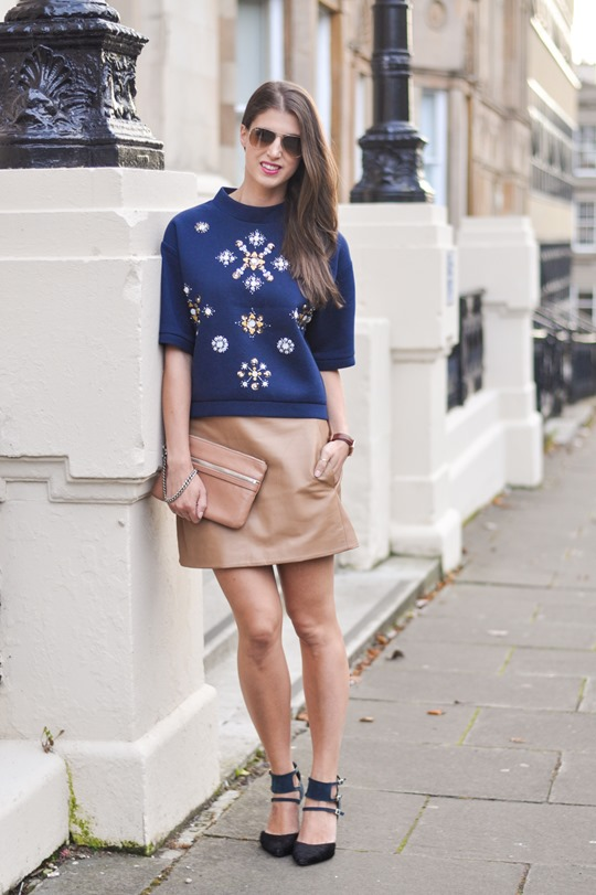 Thankfifi- H&M Trend sequin sweatshirt - fashion blogger streetstyle, London