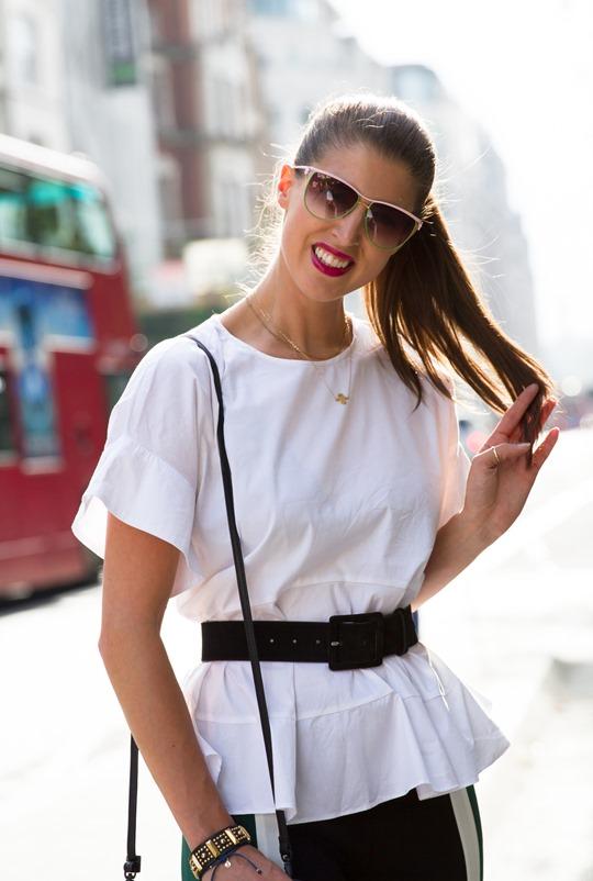 Thankfifi - London Fashion Week in Elizabeth & James colourblock trousers - fashion blogger streetstyle - ph Nancy Gibbs - VIII