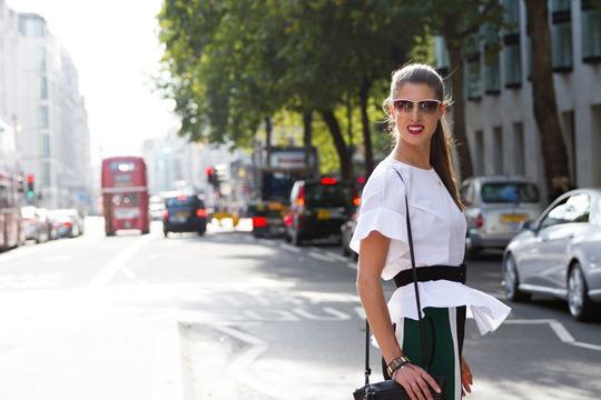Thankfifi - London Fashion Week in Elizabeth & James colourblock trousers - fashion blogger streetstyle - ph Nancy Gibbs - III