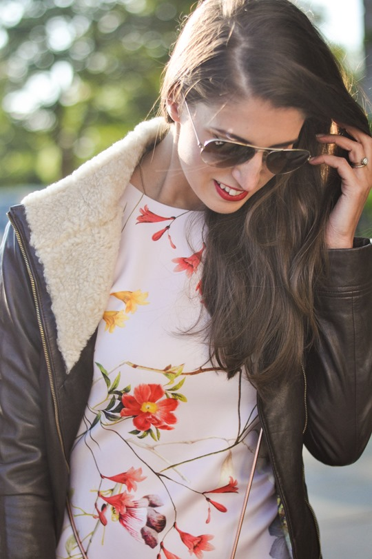 Thankfifi- PinteresTED in Furrly shealing jacket, Masi dress & Cierra red tassel clutch - fashion blogger streetstyle-8