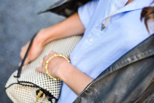 Thankfifi- Boden leopard slingbacks & Hallhuber leather leggings - fashion blogger streetstyle-7