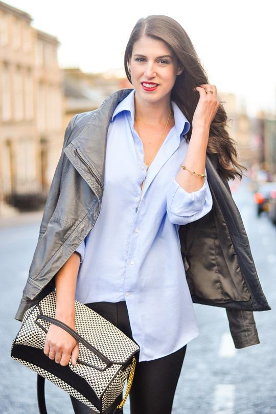 Thankfifi- Boden leopard slingbacks & Hallhuber leather leggings - fashion blogger streetstyle-8
