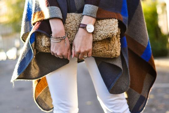 Thankfifi- Marks & Spencer high street Burberry poncho replica - fashion blogger streetstyle-7