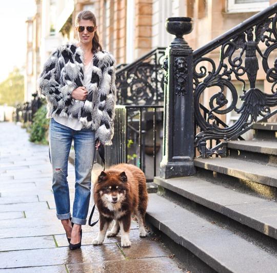 Thankfifi- Next faux fur patchwork jacket - fashion blogger streetstyle-3