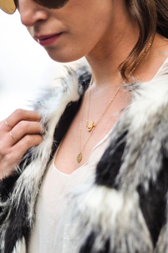Thankfifi- Next faux fur patchwork jacket - fashion blogger streetstyle-8