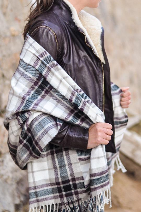 Thankfifi- On Elie beach - Ted Baker Furrly leather jacket & UGG Adirondack boots - fashion blogger streetstyle-9