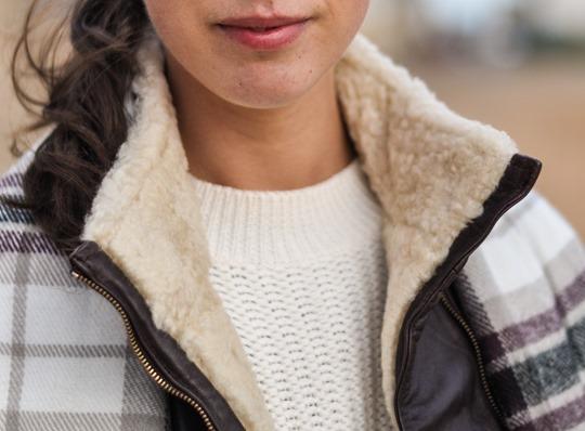 Thankfifi- On Elie beach - Ted Baker Furrly leather jacket & UGG Adirondack boots - fashion blogger streetstyle-14