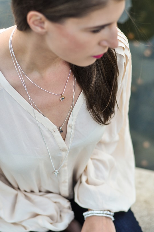 Thankfifi - Time to Sparkle in Links of London layered Sweetie necklaces - fashion blogger streetstyle-11